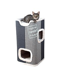 Trixie Cat Tower Jorge lichtgrau-anthr.