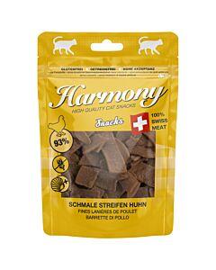 Harmony Cat Snacks schmale Streifen Huhn 50g