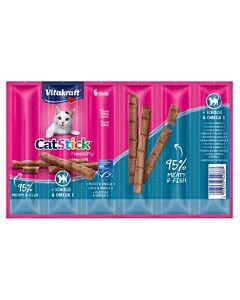 Vitakraft Vita Cat Stick mini Scholle & Omega 3 6er