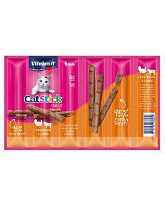 Vitakraft Vita Cat Stick mini 6er Truthahn & Lamm