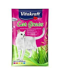 Vitakraft Cat Katzengras Samen Nachfüllbeutel 50g