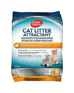 Simple Solution Cat Litter Attractant pour toilettes pour chats