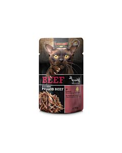 Leonardo Nassfutter Rind & pulled Beef 70g