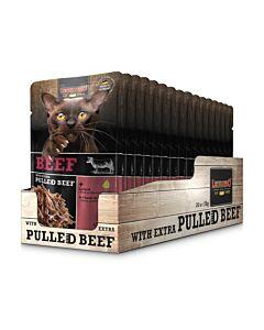 Leonardo Nassfutter Rind & pulled Beef 16x70g