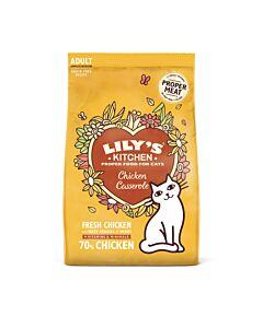 Lily's Kitchen Trockenfutter für Katzen Casserole Complete Huhn 800g