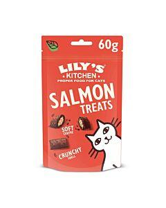 Lily's Kitchen Friandises pour chats Treats Saumon 60g