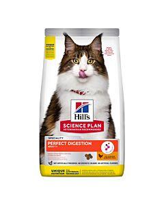 Hill's Katzenfutter Science Plan Perfect Digestion Adult Huhn & brauner Reis 1.5kg