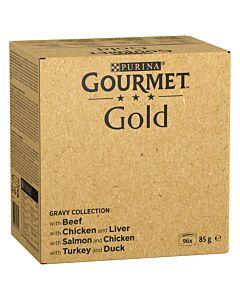 Gourmet Gold Zarte Häppchen in Sauce 96x85g