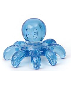 Massage-Krake blau