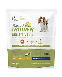 Trainer Hundefutter Sensitive Plus Small & Toy Adult Rabbit