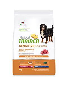 Trainer Nourriture pour chien Sensitive No Gluten Medium & Maxi Adult Agneau