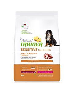 Trainer Hundefutter Sensitive No Gluten Medium & Maxi Puppy & Junior Ente