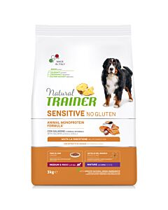 Trainer Hundefutter Sensitive No Gluten Medium & Maxi Maturity Lachs