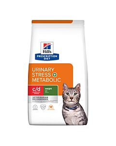 Hill's VET Katze Prescription Diet Metabolic & Urinary Stress Huhn