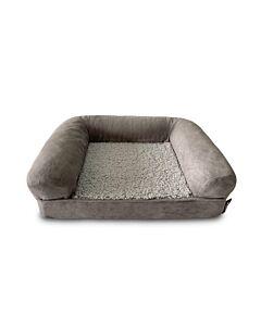 Freezack Orthopädisches Hundebett Soft-Air bed grau