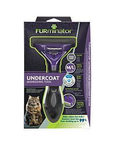 FURminator Long-Hair deShedding Tool for Cats