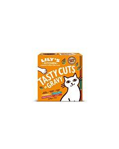 Lily's Kitchen Nassfutter für Katzen Cuts in Gravy Fleisch & Fisch