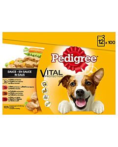 Pedigree Pouch Selection