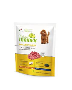 Trainer NATURAL Adult Mini Beef, Rice