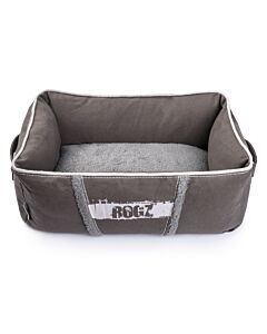 Rogz Hundebett Lounge Pod grau