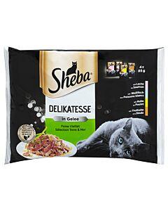 Sheba Katzenfutter Delikatessen in Geleé