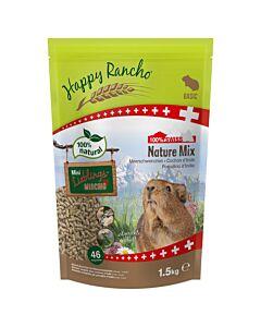 Happy Rancho Swiss Nature Mix Nourriture pour cochons d'Inde
