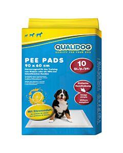 QUALIDOG Puppy Pee Pads citron