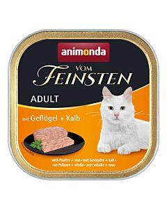 animonda Katzenfutter Vom Feinsten Adult mit Geflügel & Kalb