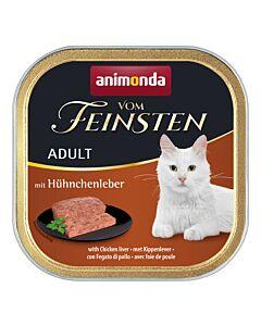 animonda Katzenfutter Vom Feinsten Adult mit Hühnchenleber