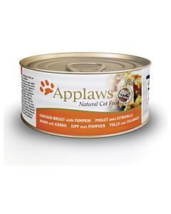 Applaws Katzenfutter Tin Hühnerbrust & Kürbis