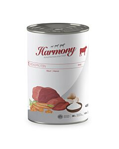 Harmony Dog Monoprotein Rind Nassfutter Dose