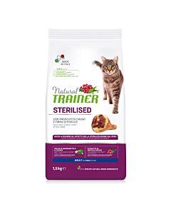 Trainer Feline Natural Sterilised Schinken