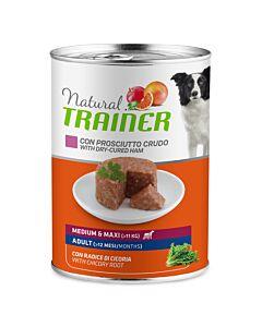 Trainer Hundefutter Natural Medium & Maxi Adult Prosciutto