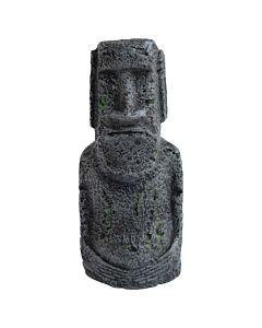 Deep Sea Décoration d'aquarium Moai gris