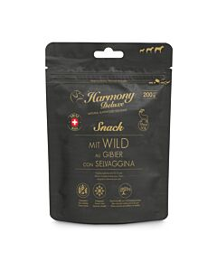 Harmony Dog Deluxe Snack pour chien au gibier