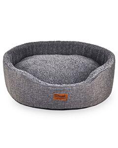Freezack Lit pour chien ovale Casadei gris