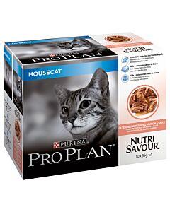 Pro Plan Cat Housecat saumon en sauce
