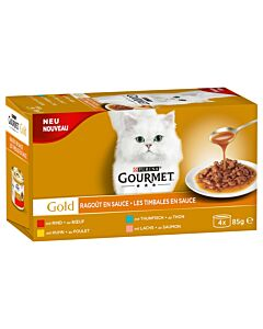 Gourmet Katzenfutter Gold Sauce Delight mit Huhn