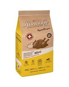 Harmony Dog Natural Mini Hypoallergen Schweizer Huhn