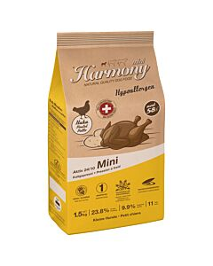Harmony Dog Natural Mini Hypoallergen Aktiv