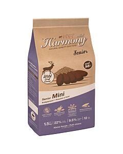 Harmony Dog Natural Mini Senior Rotwild & Reis