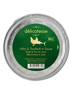 Harmony Cat Deluxe Délicatesse Huhn & Thunfisch in Sauce