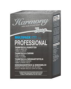 Harmony Cat Professional Katzensuppe Multipack Fisch