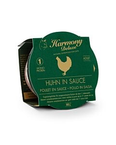 Harmony Cat Deluxe Cup Adult Huhn in Sauce Katzenfutter
