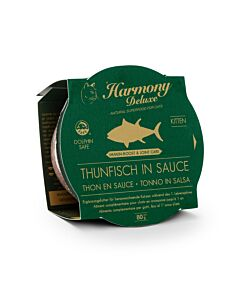 Harmony Cat Deluxe Cup Kitten Thunfisch in Sauce Immun-Boost & Care