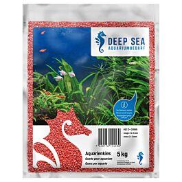 Deep Sea Quartz pour aquarium rouge, 5kg