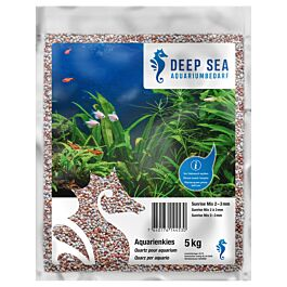 Deep Sea Quartz pour aquarium Sunrise Mix 5kg