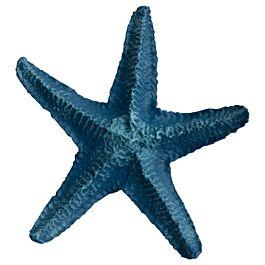 Deep Sea Aquariumdekoration Star Fish blau 12cm