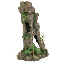 Trixie Rocher avec grotte/plantes 28cm