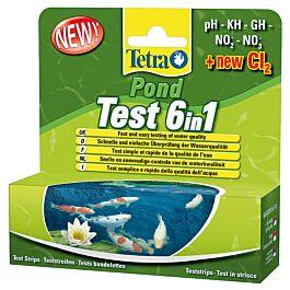 Tetra Pond Quick Test 6in1